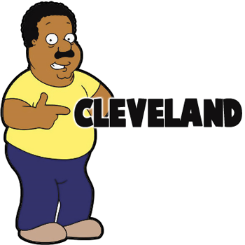 How to Draw Cleveland Brown from Family Guy Step by Step Tutorial ...